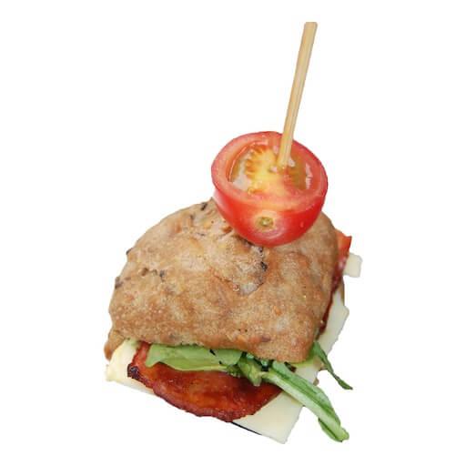 Bacon, Cheese, Arugula Sandwich - SYB