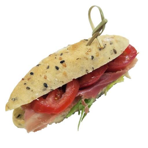 Smoked Ham & Veggie Sandwich - SYB